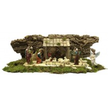 Krippenset Nazareth Holz