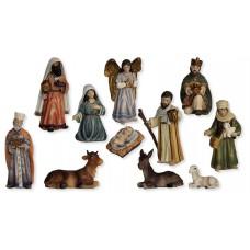 Krippenfiguren Set Orientalisch 11 Teilig