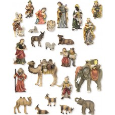 Krippenfiguren Set Matthias 23 Teilig 11cm