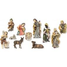 Krippenfiguren Set Matthias 11 Teilig 13cm
