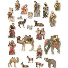 Krippenfiguren Set Matthias 23 Teilig 13cm