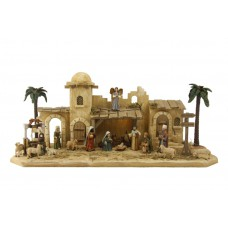Krippenset Jerusalem Holz