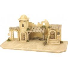 Krippenstall Jerusalem Holz