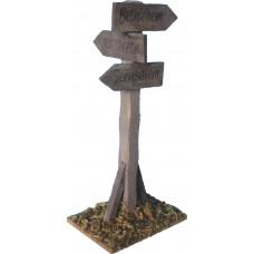 Wegweiser Holz 15cm
